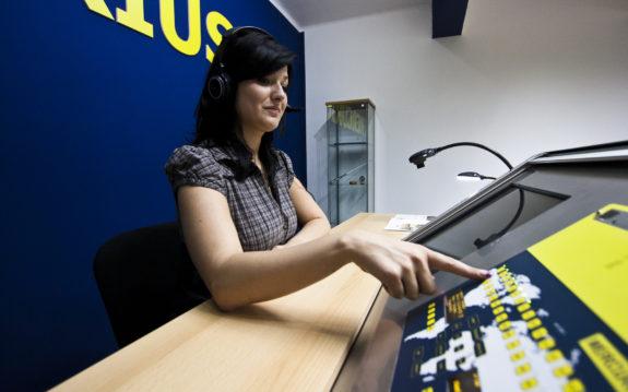 Jazyková laboratoř – učebna MERCURIUS 21
